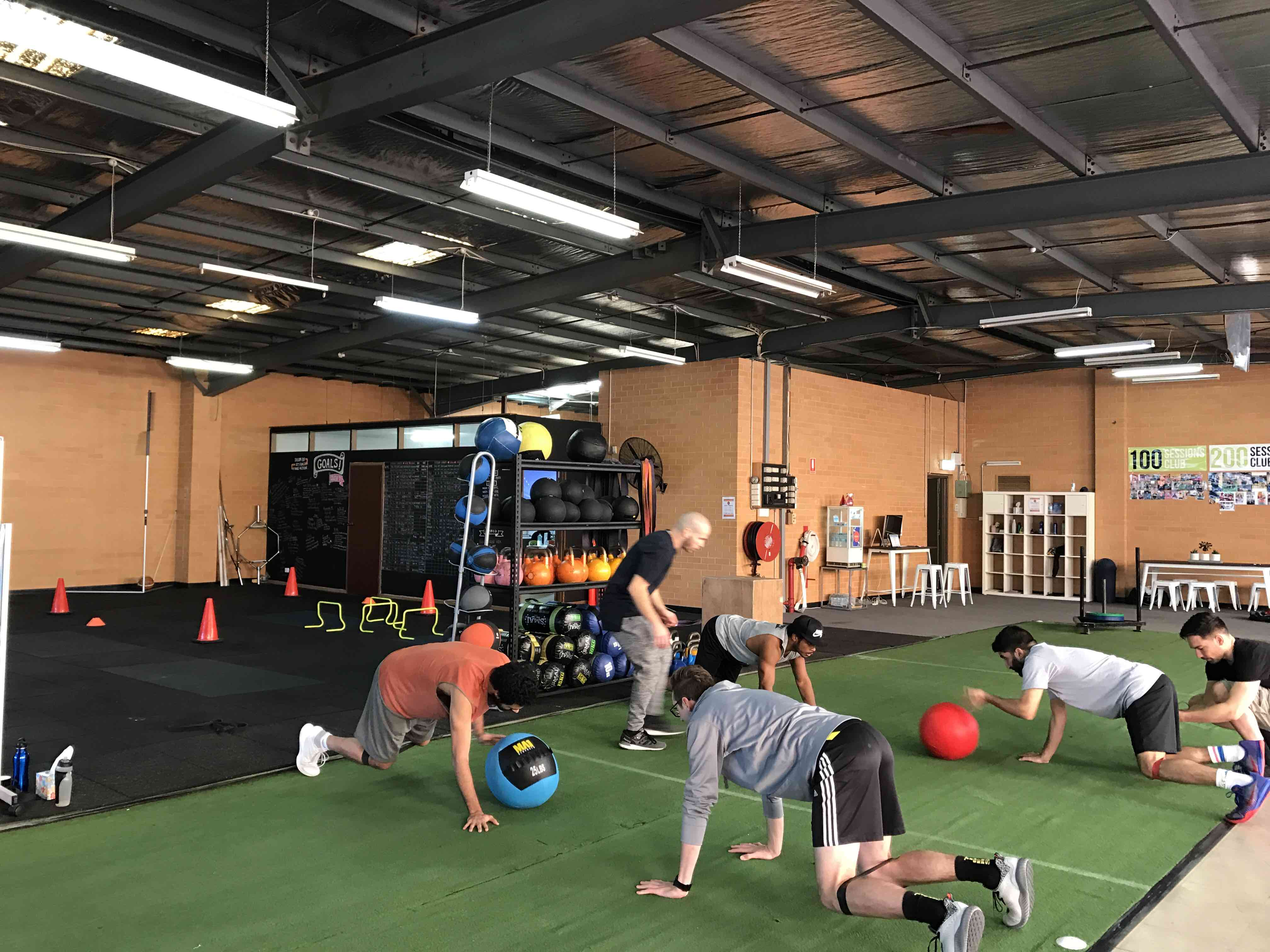 empower health concepts small group class core workout