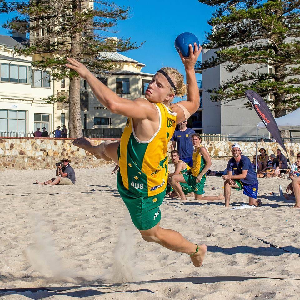 matt campbell handball Australia world games