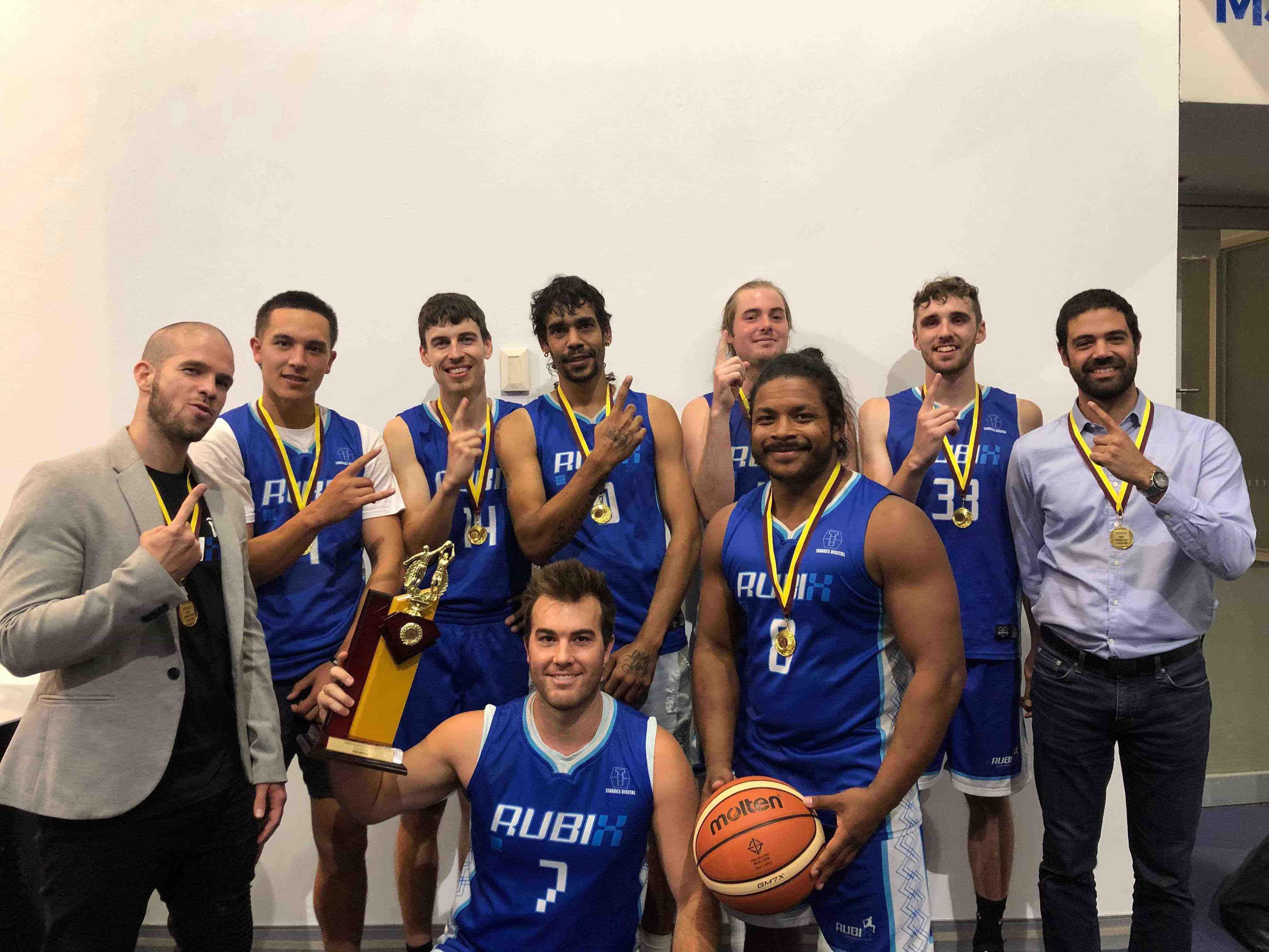 rubix basketball team champions plyometrics