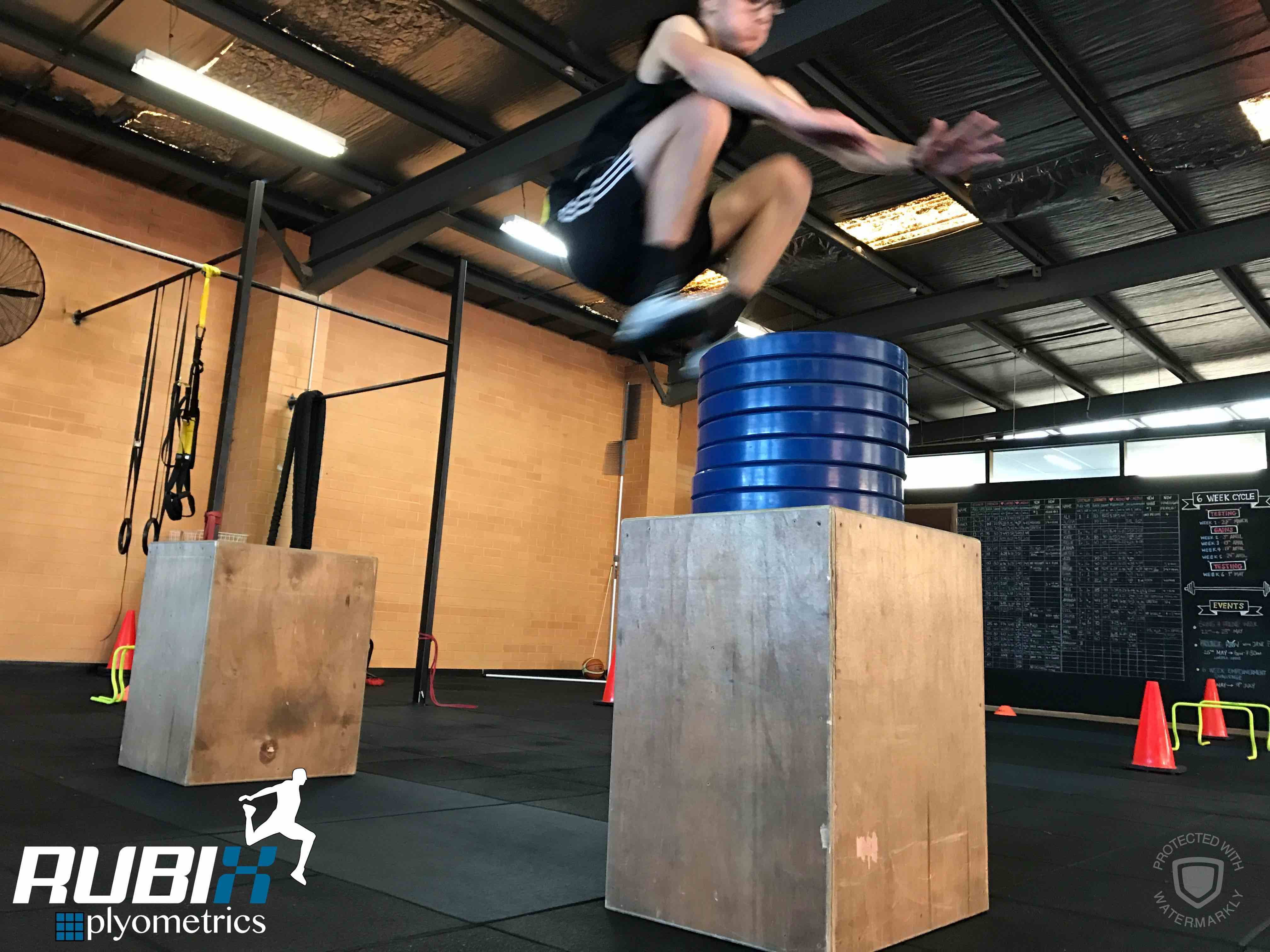 rubix plyometrics box jump