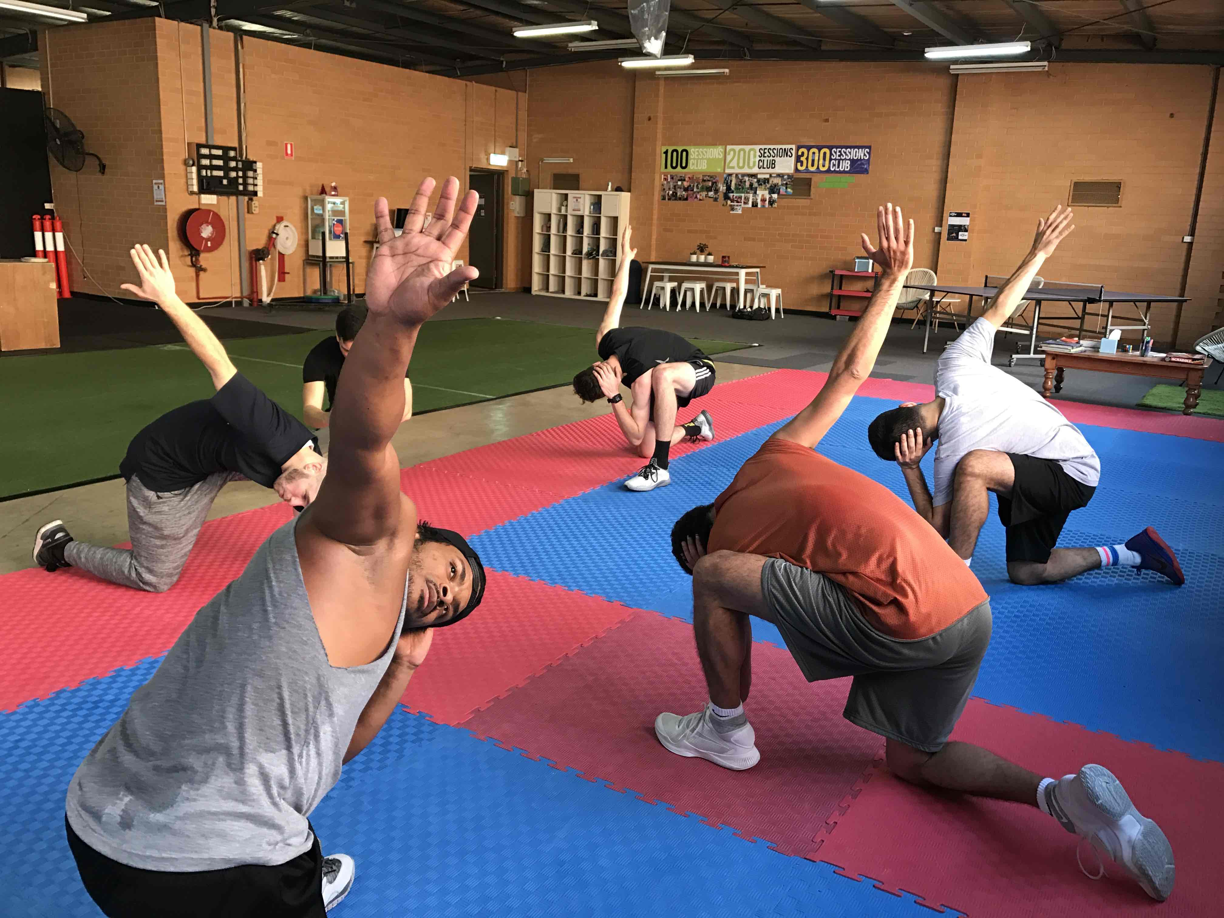 small group exercise empower health concepts rubix plyometrics mobility 2